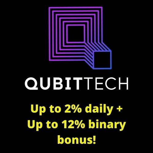 QubitTech - This Is Paying Me Up To 2% Daily!